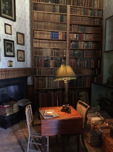 Library at Calke Abbey