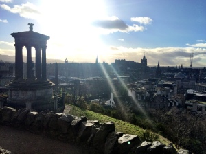 Enlightenment on Calton Hill